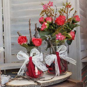 κόκκινα τριαντάφυλα και γάμο