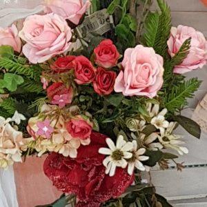 σύνθεση λουλούδιών για φθινοπωρινό γάμο