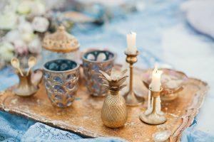 Χειμωνιάτικος γάμος: πρόταση διακόσμησης με χάλκινα χρώματα
