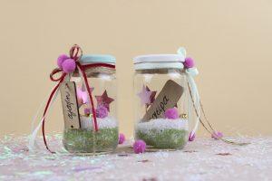 ιδέες για χριστουγεννιάτικα δώρα, χειροποίητα βαζάκια