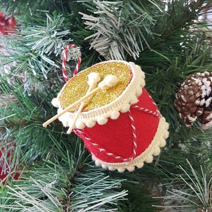 Χριστουγεννιάτικο στολιδι τύμπανο