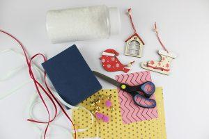 υλικά για χριστουγεννιάτικες κατασκευές για παιδιά
