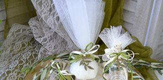 Μπομπονιέρες γάμου με θέμα την ελιά