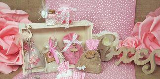 8 διαφορετικές ιδέες για μπομπονιέρες κοριτσιού με θέμα το ροζ