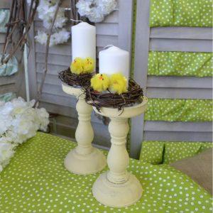 Πασχαλινά δώρα: διακοσμητικά κεριά