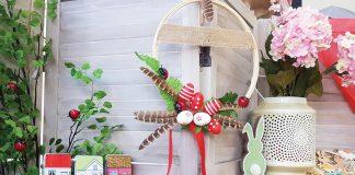 Πασχαλινά δώρα, σπιτάκια, πασχαλινό στεφάνι & διακόσμηση με φανάρια