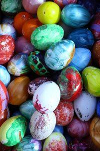 Ζωγραφιστά αυγά πολύχρωμα