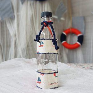 θέμα βάπτισης αγόρι ναυτικό: μπουκάλι για το λάδι