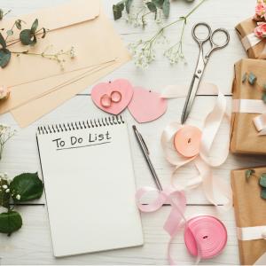 λίστα για διοργάνωση γάμου