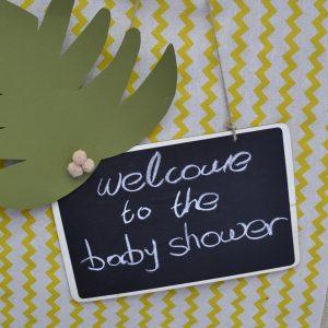 Μαυροπίνακας για baby shower
