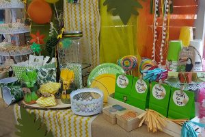 baby shower διακόσμηση για αγόρι, candy table