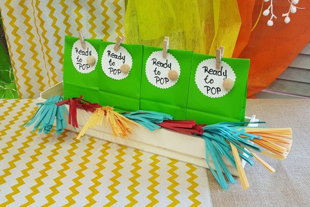 Χάρτινα σακουλάκια για δωράκια ή για candy table