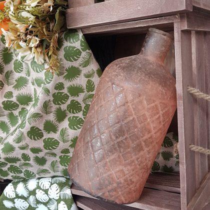 Μπουκάλι σε φθινοπωρινή απόχρωση για διακόσμηση σπιτιού