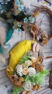 Διακόσμηση σπιτιού: φθινοπωρινό στεφάνι diy