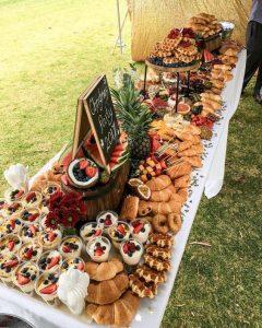γάμος 2020: μπουφές για brunch wedding