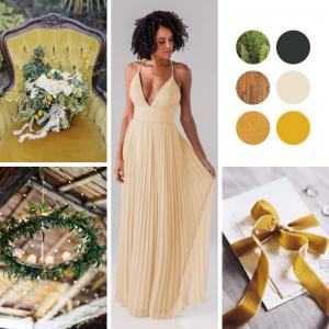 κίτρινο του μελιού, χρώμα για γάμο 2020