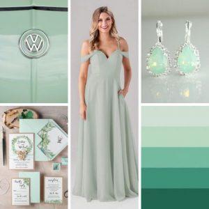 Neo-Mint χρώμα για γάμο 2020