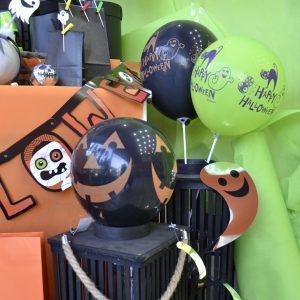 χάλογουιν μπαλόνια