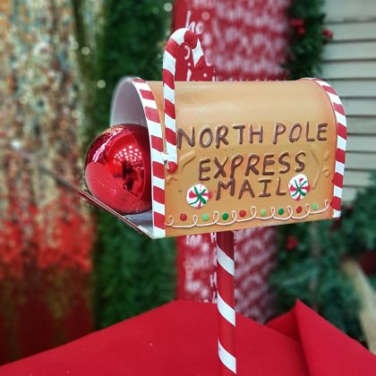 χριστουγεννιάτικο ταχυδρομικό κουτί