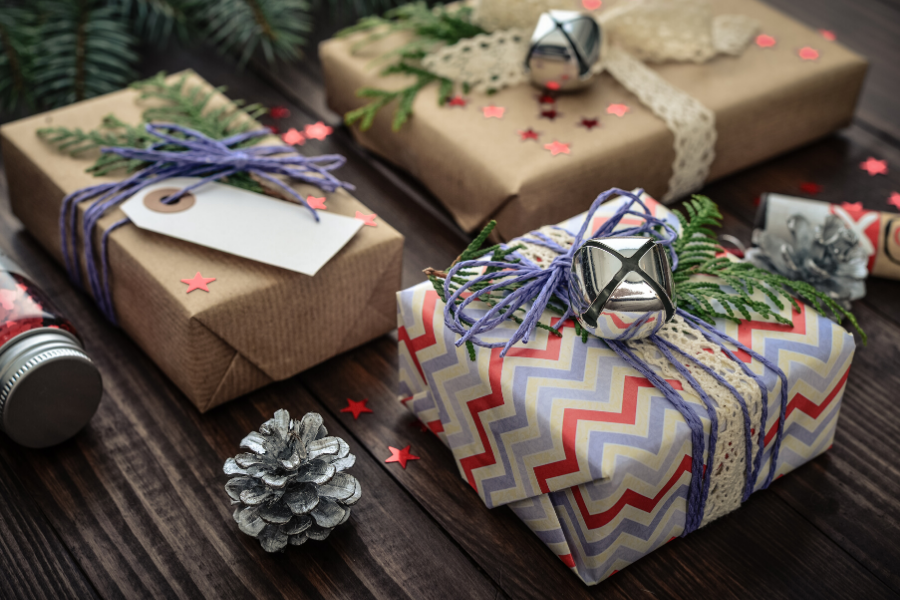 ιδέες για τύλιγμα δώρων