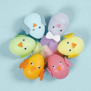 διακοσμητικά πασχαλινά αυγά ζωάκια