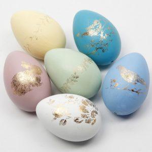 πασχαλινά αυγά διακοσμητικά ζωγραφισμένα στο χέρι