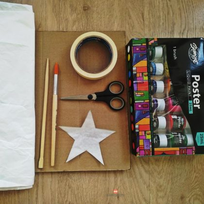 Υλικά που θα χρειαστείτε για το DIY ραβδάκι