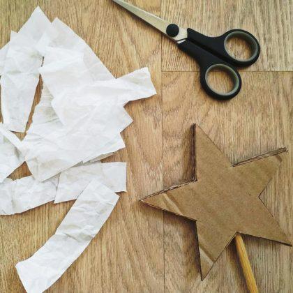 Τώρα πρέπει να το ντύσετε με χαρτί αφής