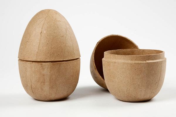 χάρτινα πασχαλινά διακοσμητικά αυγά που ανοιγουν στη μέση