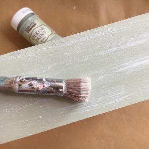 ντεκουπάζ και ξηρό πινέλο