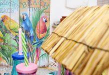 ξύλινες καλοκαιρινές πινακίδες για διακόσμηση μπαλκόνι