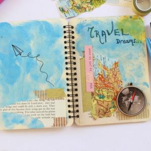 scrapbooking DIY Ημερολόγιο