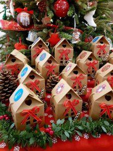 ημερολόγιο αντίστροφης μέτρησης χριστουγέννων με κουτάκια